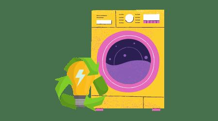 Masina de Spalat Rufe Consum Electric